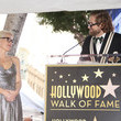 Bryan Fuller Gillian Anderson Honored With Star on the Hollywood Walk of Fame