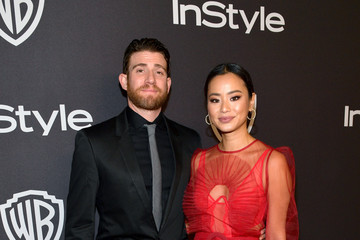 Bryan Greenberg Jamie Chung The 2019 InStyle And Warner Bros. 76th Annual Golden Globe Awards Post-Party - Red Carpet