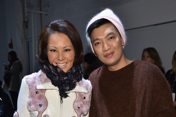 Bryan Yambao Derek Lam - Front Row - Fall 2016 New York Fashion Week: The Shows