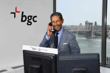 Bryant Gumbel Annual Charity Day Hosted By Cantor Fitzgerald, BGC and GFI - BGC Office - Inside