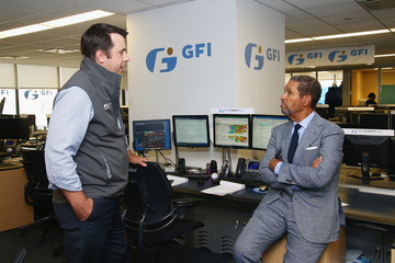 Bryant Gumbel Annual Charity Day Hosted By Cantor Fitzgerald, BGC and GFI - GFI Office - Inside