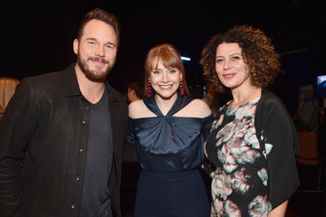 Bryce Dallas Howard Chris Pratt CinemaCon 2018 - Universal Pictures Invites You To A Special Presentation Featuring Footage From Its Upcoming Slate