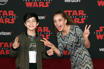 Bryce Gheisar Premiere of Disney Pictures and Lucasfilm's 'Star Wars: The Last Jedi' - Arrivals