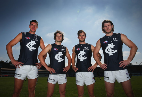 Carlton Blues Training Session & Guernsey Unveiling