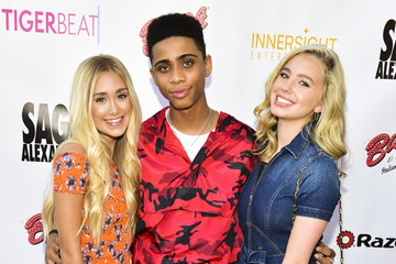 Bryce Xavier Lilia Buckingham The Sage Launch Party Co-Hosted By Tiger Beat - Arrivals