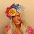 Brynne Edelsten Celebs Attend Melbourne Cup Day