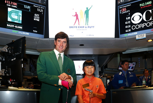 Drive, Chip and Putt NYC Tour [advertising,display device,media,technology,display advertising,event,multimedia,brand,news,bubba watson,chip,kelly xu,masters,registration,new york city,new york stock exchange,drive,putt nyc tour,chip putt national champion]