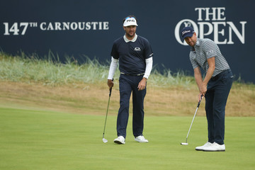 Bubba Watson Webb Simpson 147th Open Championship - Previews