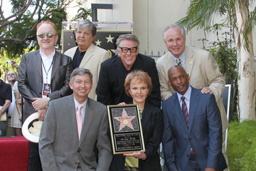 Phil Everly Buddy Holly Star Unveiled On The Hollywood Walk Of Fame
