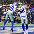 Jason Witten Photos - Randall Cobb #18 of the Dallas Cowboys celebrates the first quarter touchdown by Jason Witten #82 of the Dallas Cowboys against the Buffalo Bills at AT&T Stadium on November 28, 2019 in Arlington, Texas. - Buffalo Bills vs Dallas Cowboys