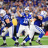 Andrew Luck Photos - Andrew Luck #12 of the Indianapolis Colts throws a pass in the fourth quarter against the Buffalo Bills at Lucas Oil Stadium on October 21, 2018 in Indianapolis, Indiana. - Buffalo Bills vs. Indianapolis Colts
