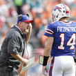 Ryan Fitzpatrick and Chan Gailey  Photos