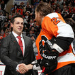 Claude Giroux and Danny Briere Photos