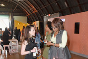 Head of Brand at Bumble Alexandra Williamson and TV personality Gayle King attend Bumble Presents: Empowering Connections at Fair Market on March 9, 2018 in Austin, Texas.