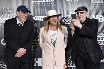 Bun E. Carlos 31st Annual Rock and Roll Hall of Fame Induction Ceremony - Press Room