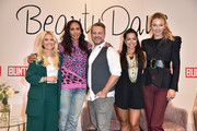 (L-R) Jennifer Knaeble, Barbara Becker, Norman Pohl, Fernanda Brandao and Prinzessin Lilly zu Sayn-Wittgenstein-Berleburg during the Bunte Beauty Days at Messe Muenchen on October 27, 2018 in Munich, Germany.