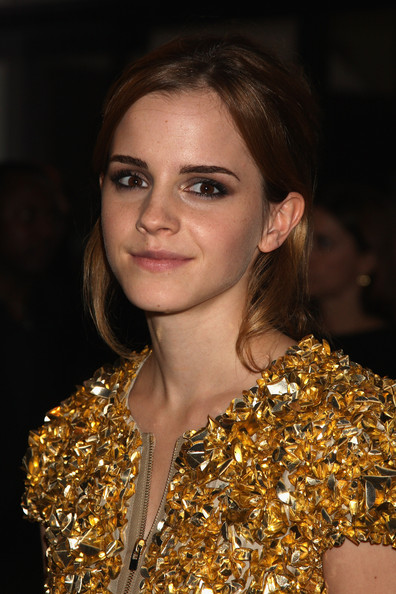 Emma Watson Emma Watson poses at the Afterparty for Burberry Prorsum