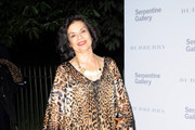 Bianca Jagger attends the Burberry Serpentine Summer Party at the Serpentine Gallery on June 28, 2011 in London, England.