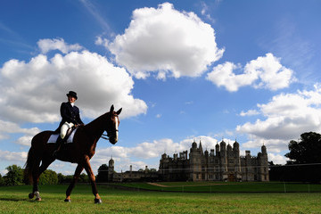 Helene Vattier Burghley Horse Trials - Day Two