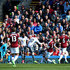 Wayne Rooney Photos - Wayne Rooney of Manchester United scores his team's second goal during the Premier League match between Burnley and Manchester United at Turf Moor on April 23, 2017 in Burnley, England. - Burnley v Manchester United - Premier League