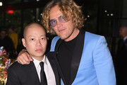 Jason Wu and Peter Dundas attend the #BoF500 gala dinner during New York Fashion Week Spring/Summer 2019 at 1 Hotel Brooklyn Bridge on September 9, 2018 in Brooklyn City.