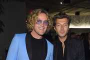 Peter Dundas and Evangelo Bousis attend the #BoF500 gala dinner during New York Fashion Week Spring/Summer 2019 at 1 Hotel Brooklyn Bridge on September 9, 2018 in Brooklyn City.