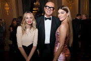 (L-R) Guest, Marco Bizzarri and Bianca Brandolini attend the #BoF500 gala during Paris Fashion Week Spring/Summer 2020 at Hotel de Ville on September 30, 2019 in Paris, France.