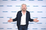 Businessman And Philanthropist Richard Branson Sits Down With SiriusXM's John Fugelsang For SiriusXM's 'Learning With Richard' Branson.