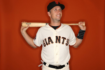 Buster Posey San Francisco Giants Photo Day
