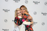 """(L-R) Heidi Pratt and Audrina Patridge attend BuzzFeed News Presents """"The Hills"""" at PROFILE by BuzzFeed News on June 11, 2019 in New York City."""