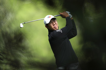 Byeong-Hun An The Masters - Round One