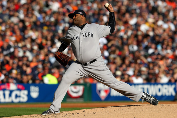 C.C. Sabathia - ALCS - New York Yankees v Detroit Tigers - Game Four