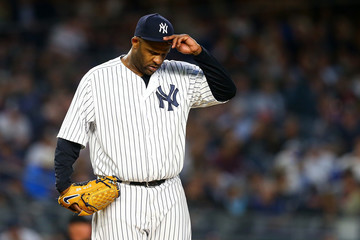 C.C. Sabathia Boston Red Sox Vs. New York Yankees