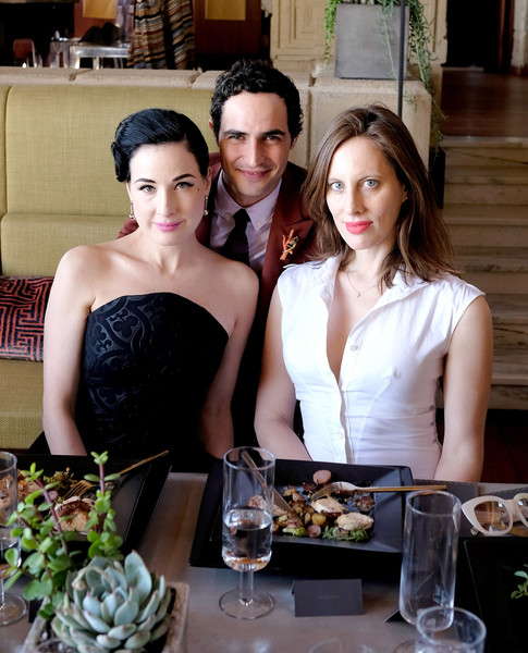 M.A.C Cosmetics with Zac Posen Luncheon at the Ennis House