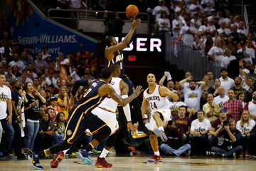C.J. Miles Indiana Pacers v Cleveland Cavaliers - Game One