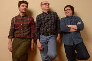 (L-R) Actors Adam Scott, Richard Jenkins and Clark Duke and pose for a portrait during the 2013 Sundance Film Festival at the Getty Images Portrait Studio at Village at the Lift on January 23, 2013 in Park City, Utah.