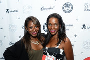 KJ Rose (L) and actress Kelsey Scott attend the book launch for 'From C-Student to the C-Suite:  Leveraging Emotional Intelligence' at PLATFORM in Hayden Tract on August 4, 2016 in Culver City, California.