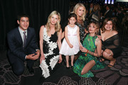 Nicky Hilton Rothschild, Paris Hilton and Paris Jackson meet with honorees during the CASA Of Los Angeles' 2018 Evening To Foster Dreams Galaat The Beverly Hilton Hotel on April 18, 2018 in Beverly Hills, California.