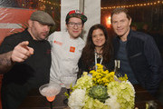 Chris Santos and Alex Guarnaschelli Photos Photo