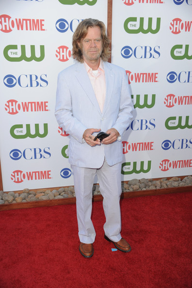 Actor William H. Macy arrives at the TCA Party for CBS, The CW and Showtime held at The Pagoda on August 3, 2011 in Beverly Hills, California.