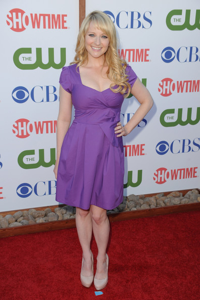 Actress Melissa Rauch arrives at the TCA Party for CBS, The CW and Showtime held at The Pagoda on August 3, 2011 in Beverly Hills, California.