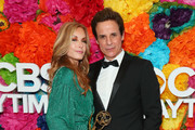 Tracey Bregman and Christian LeBlanc attend CBS Daytime Emmy Awards After Party at Pasadena Convention Center on May 05, 2019 in Pasadena, California.