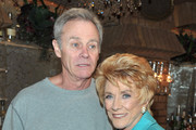 """Actor Tristian Rogers and actress Jeanne Cooper attend CBS' """"The Young and the Restless"""" 38th Anniversary cake cutting on March 24, 2011 in Los Angeles, California."""
