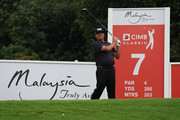 Ryan Moore of United States in action during the second round of the CIMB Classic at TPC Kuala Lumpur on October 12, 2018 in Kuala Lumpur, Malaysia.