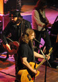 Singers & Songwriters Randy Houser and Jamey Johnson perform during the CMT Tour at the Wildhorse Saloon on December 8, 2009 in Nashville, Tennessee.