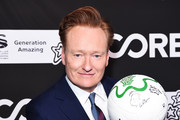 Conan O'Brien attends CORE Gala: A Gala Dinner to Benefit CORE and 10 Years of Life-Saving Work Across Haiti & Around the World at Wiltern Theatre on January 15, 2020 in Los Angeles, California.