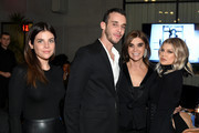 Julia Restoin Roitfeld, Vladimir Restoin Roitfeld, Carine Roitfeld and Fergie attends the CR Fashion Book Celebrating launch of CR Girls 2018 in Partnership with Technogym at Spring Place on December 12, 2017 in New York City.
