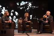 Singer/Songwriter, Keith Urban, Journal Broadcast Group's (Milwaukee,WI) Beverlee Brannigan and All Access' (Nashville, TN) RJ Curtis attend Keith Urban: Being Present  sponsored by BMI during CRS 2015 on February 27, 2015 at the  in Nashville, Tennessee.