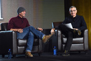 Singer/Songwriter Tim McGraw and  R.J. Curtis (All Acess) attend CRS 2016 - Day 3 at The Omni Hotel on February 10, 2016 in Nashville, Tennessee.