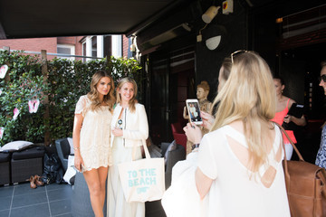 Caggie Dunlop Summer Party to Celebrate Chloe Lloyd as Face of BIC Soleil